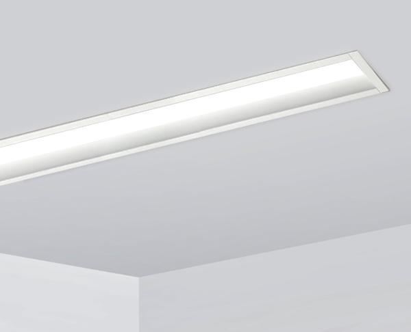 פרופיל תאורה שקוע גוף עם גוף תאורה עמוק