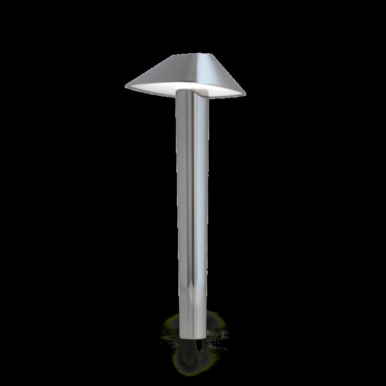 מנורת שולחן עומדת כסופה