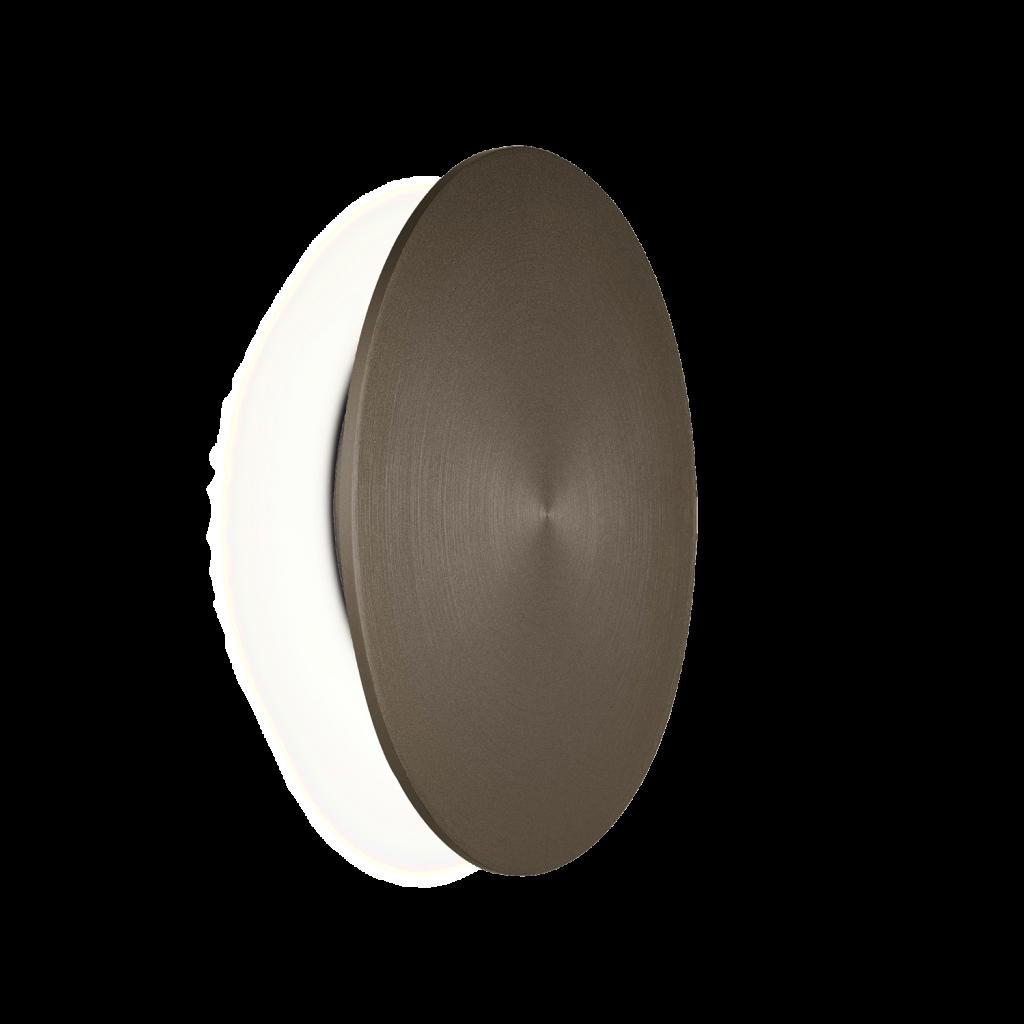 מנורת קיר אינלייט עיגול מתכתי