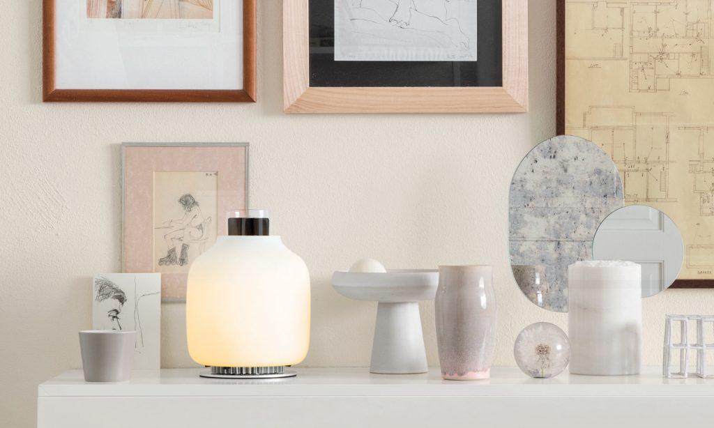 מנורת שולחן candela מבית astep