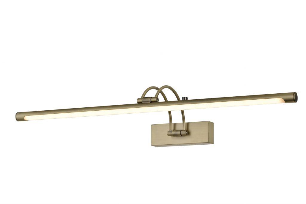 מנורות קיר מעוצבות פס ברונזה חיבור קשת לבסיס