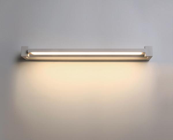 תאורת קיר מעוצבת - מלבן לבן down light