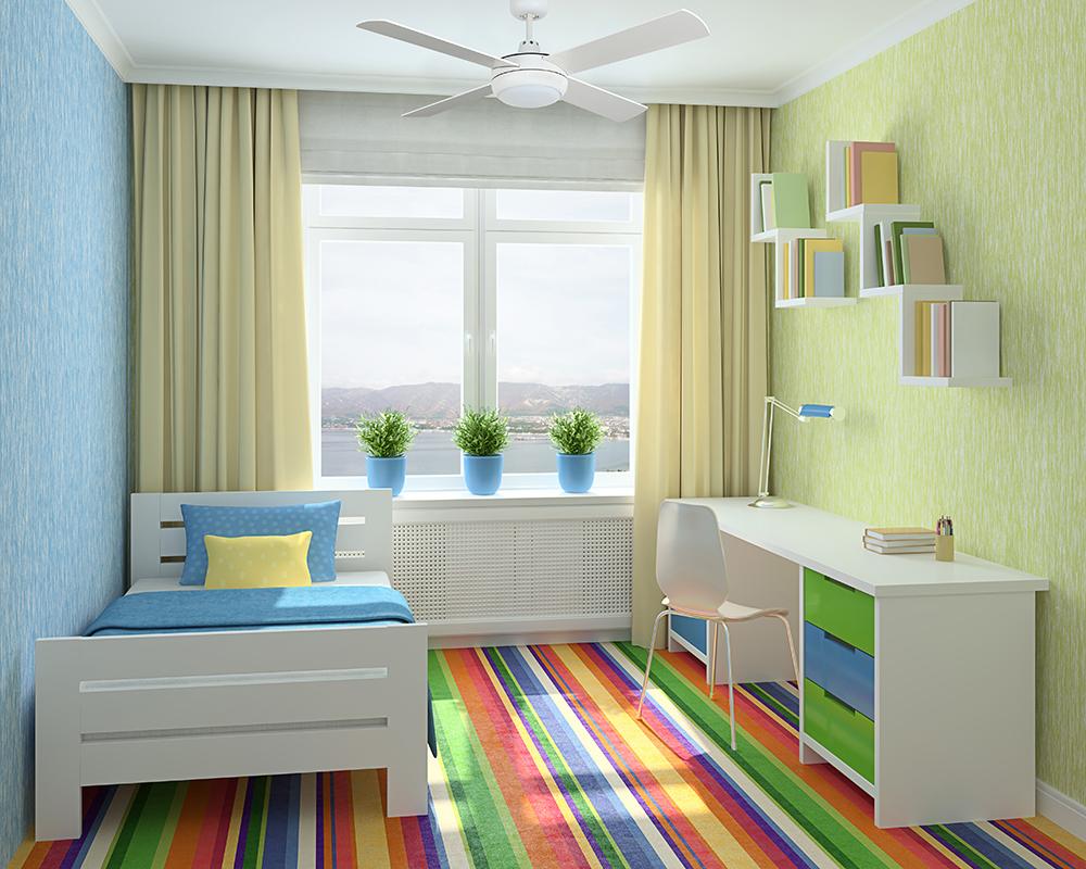 חדר ילדים, מאוורר תקרה
