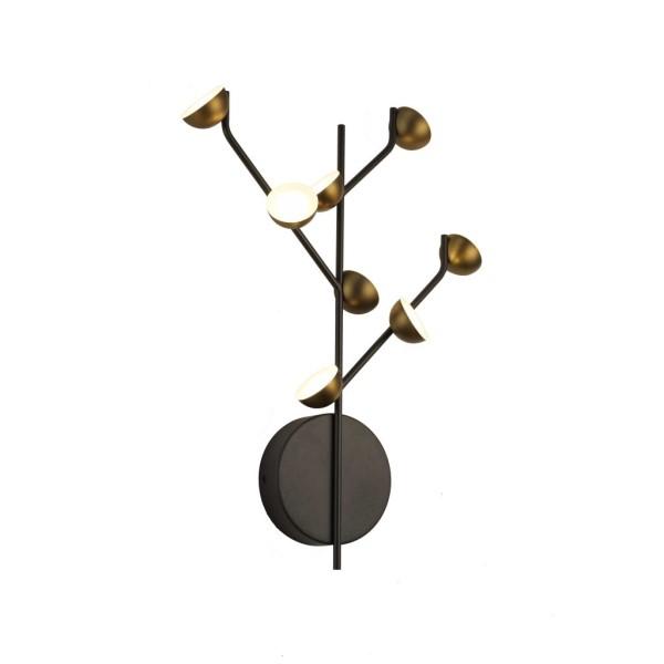 מנורות קיר מעוצבות - מנורות קיר ענפים 8 נורות