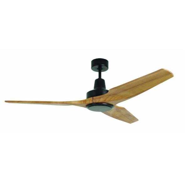 מאוורר תקרה סווינג 3 כנפיים עץ גוף שחור