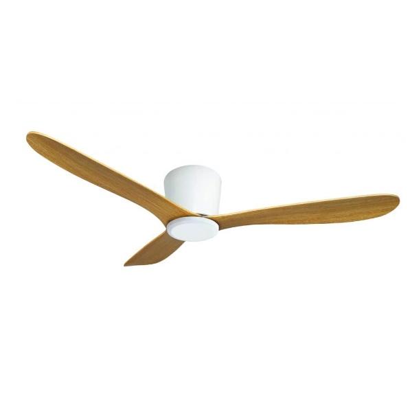 מאוורר תקרה סווינג גוף לבן כנפיים עץ