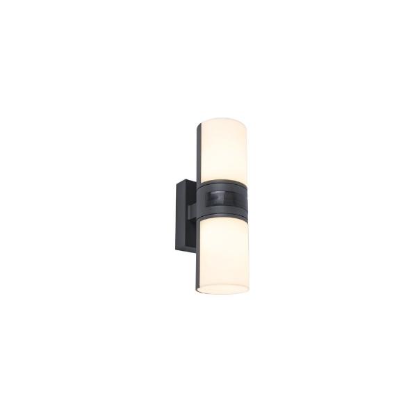 מנורת קיר מוגנת מים אפ דאון בלי / עם חיישן תנועה